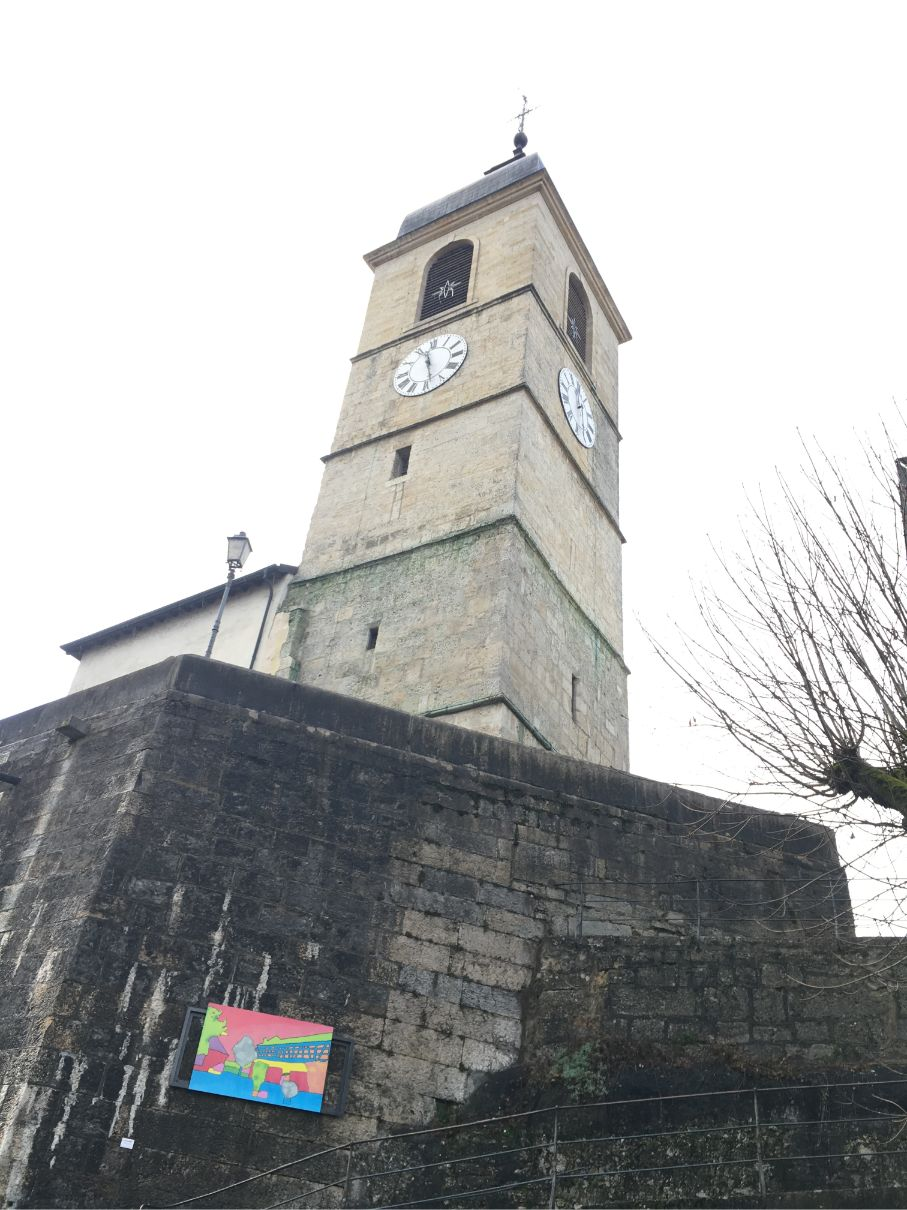Purentruy church tower