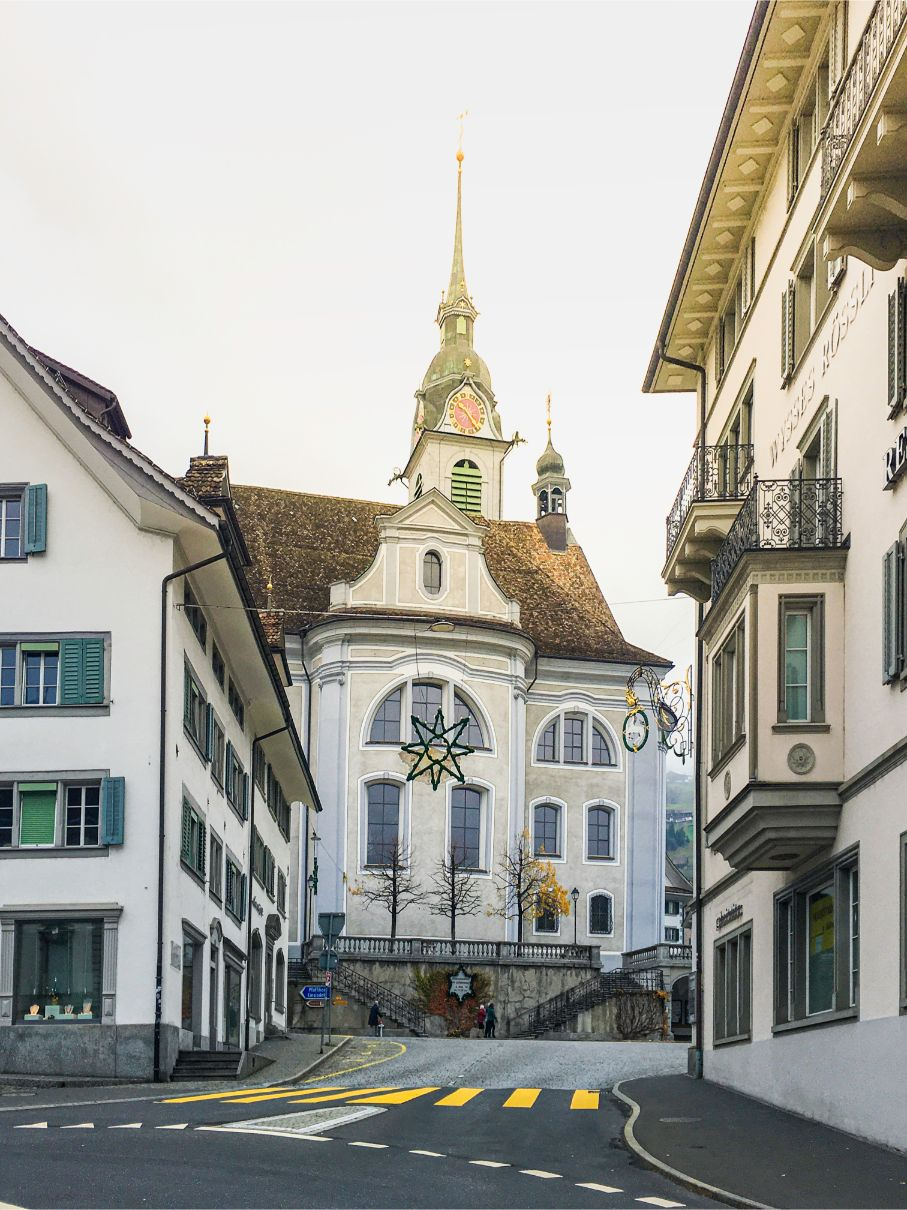Schwyz church