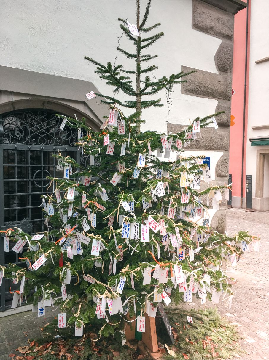 Zug Christmas tree
