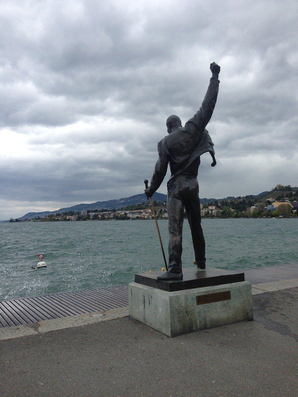 Freddie Mercury in Montreux