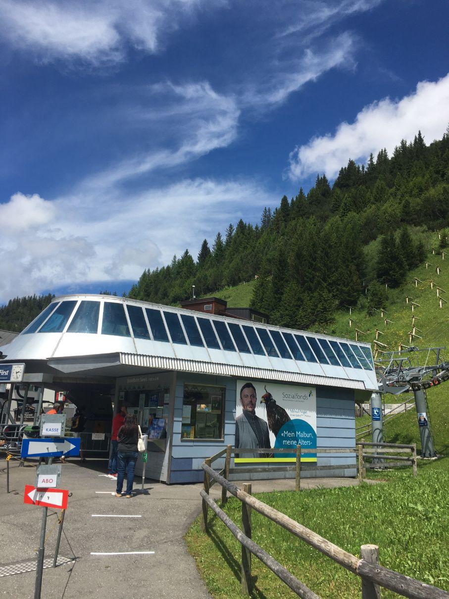 Malbun ski lift