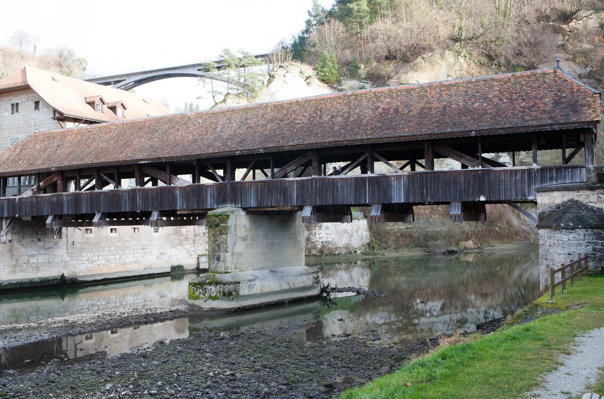 Pont de Berne Fribourg