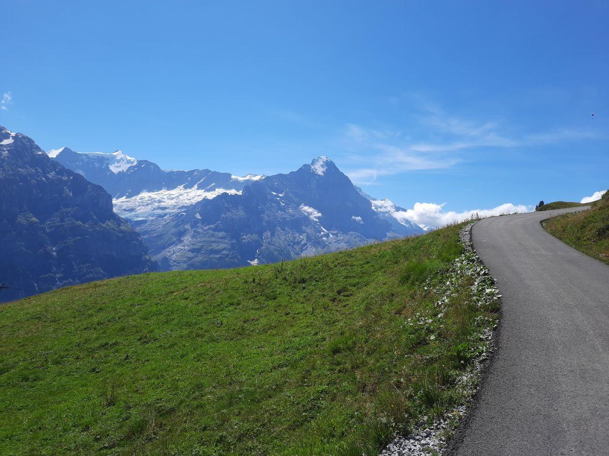 Hiking in Grindelwald, Switzerland