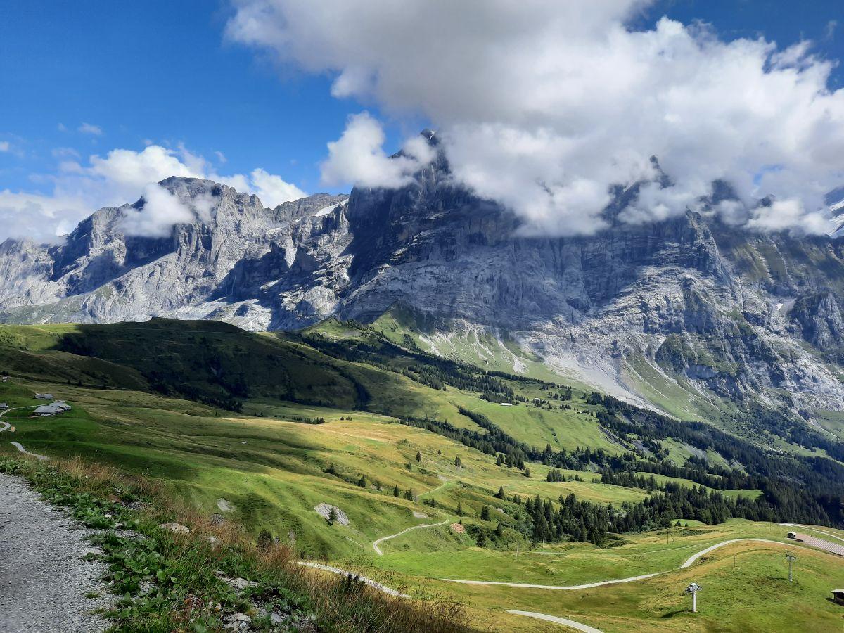 Hiking Trail to First, Switzerland