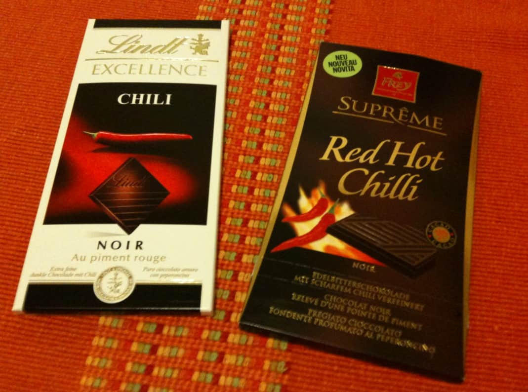Lind vs Frey chocolate