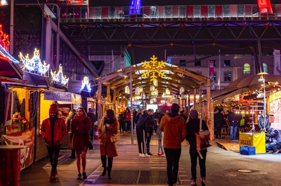Lausane christmas market