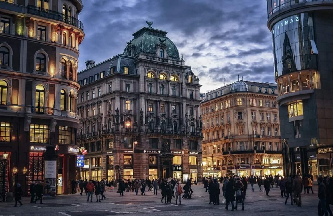 Vienna walking