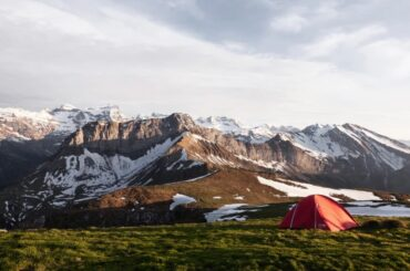 Camping in Switzerland