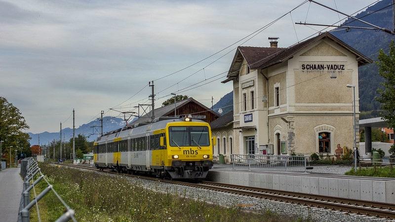 Schaan-Vaduz railway station