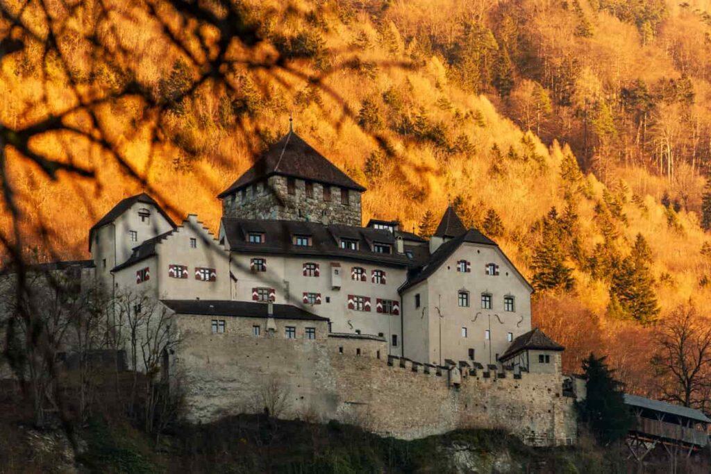 Autumn in Liechtenstein