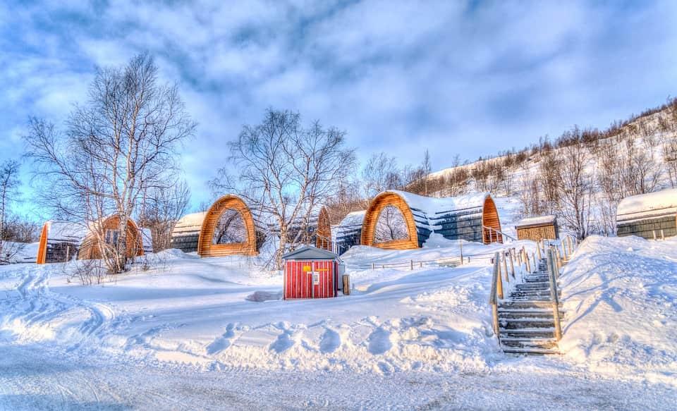 Artic settler home