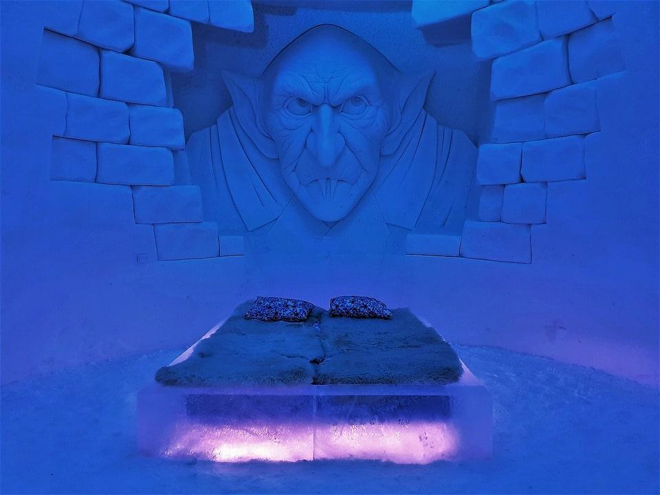 Ice hotel in Alta