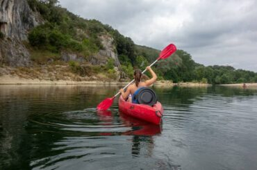 Kayaking in France