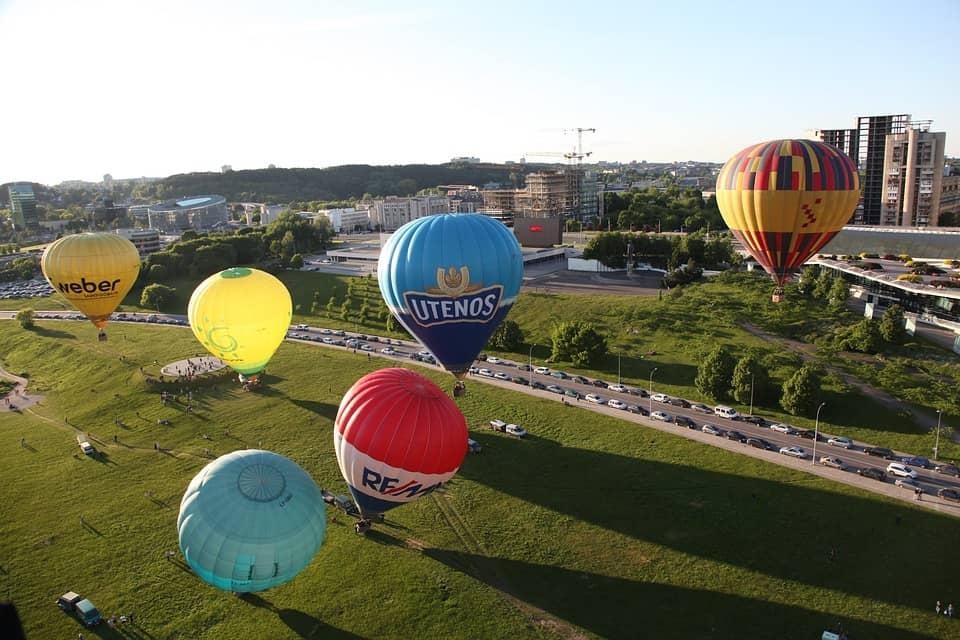 Lithuania hot air baloon