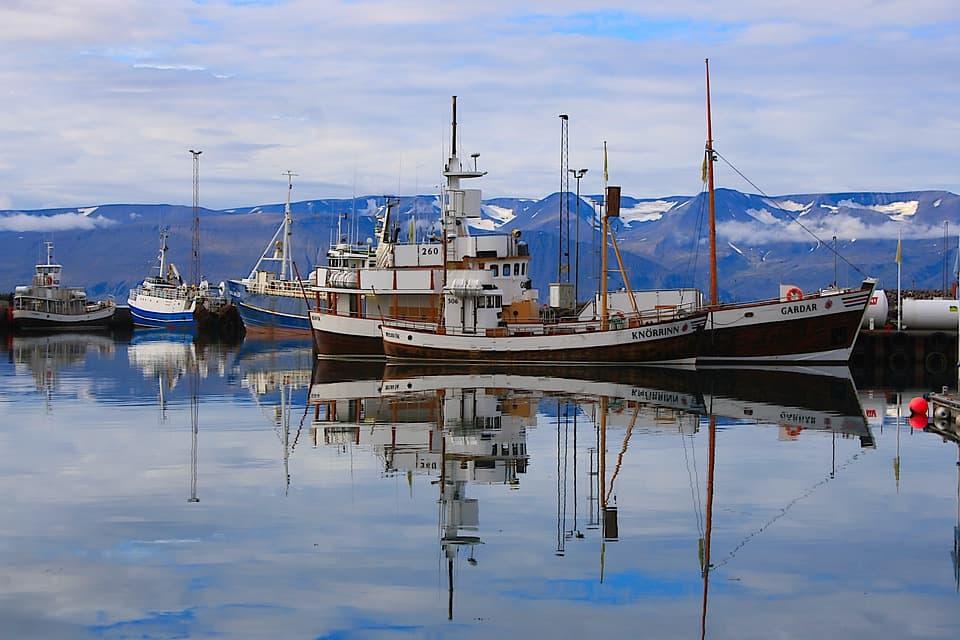 getting to Akureyri