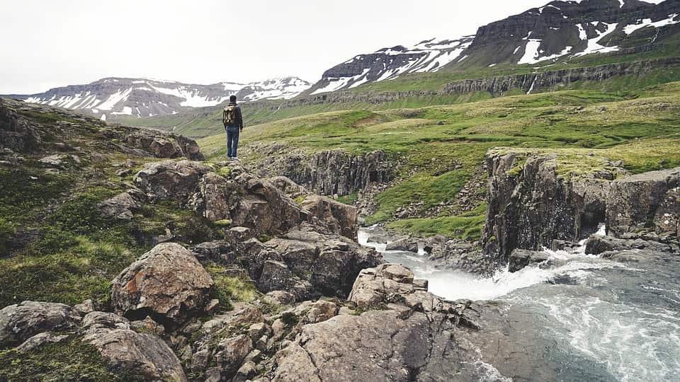 Iceland hiking