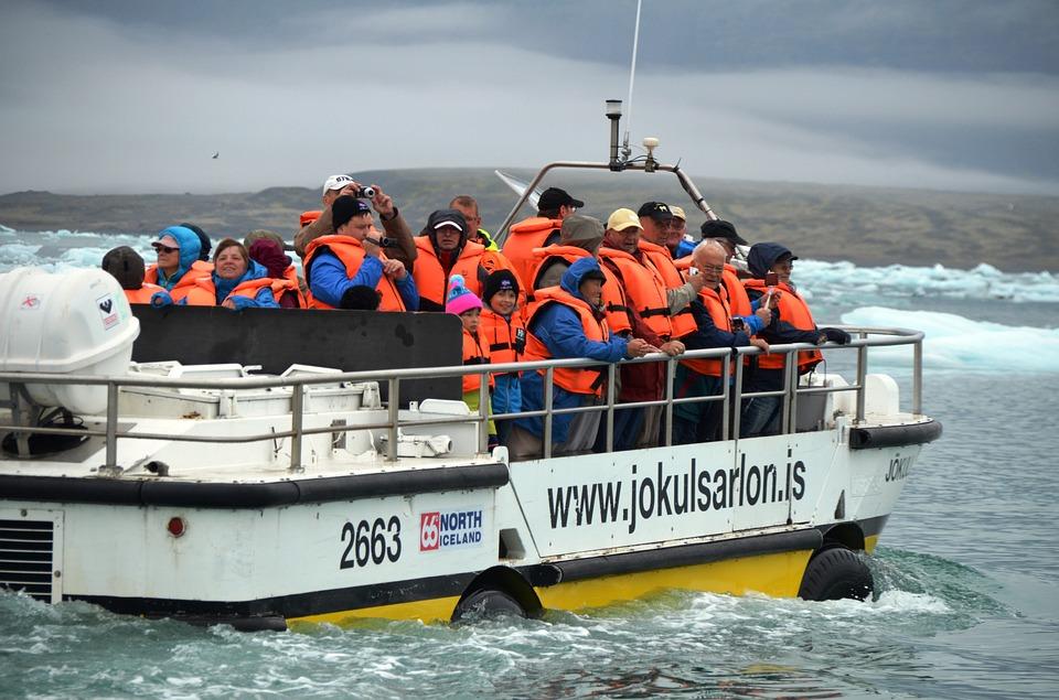 Iceland boat trip