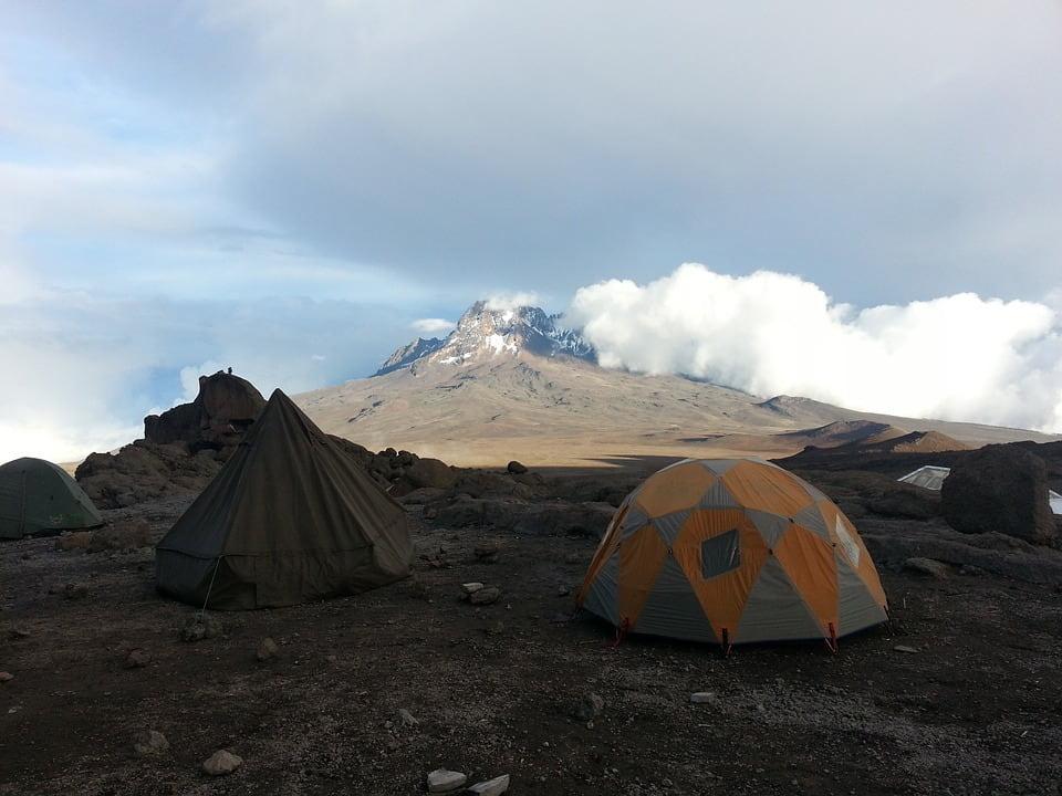 Kilimanjaro camping