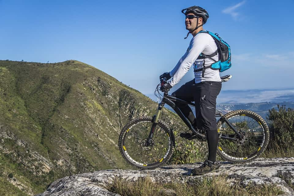 Swiss mountain biking