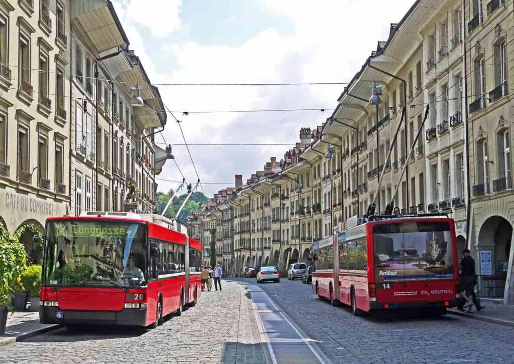 Bern buses