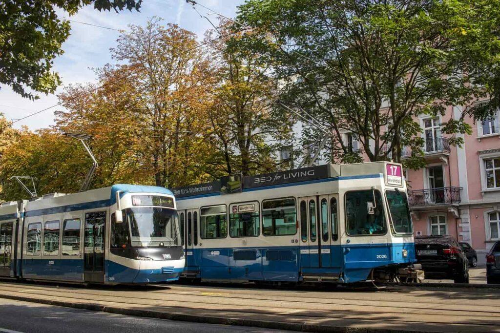 Zurich trams