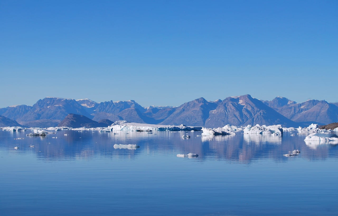 fjords in greenland